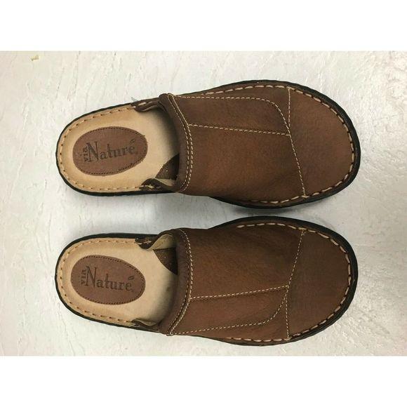 Via nature Shoes - Via Nature Beige Leather Size 6.5